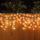200-LED Branco Mg-Salina Água Xmas Decorativas LED Light String (72 pés)