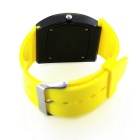 MAIKOU MK006 LED Digital Watch w/ Date Display - Yellow