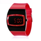 MAIKOU MK006 LED Digital Watch w/ Date Display - Red