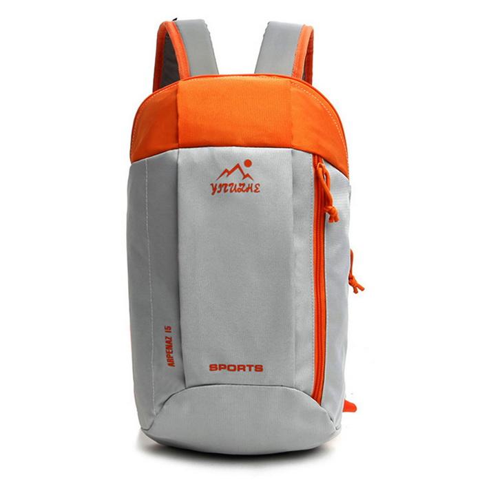Outdoor Multifunctional Waterproof Backpack Nylon Sports Bag - Orange