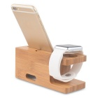 2-in-1 Small Watch + Phone Holder for Apple Watch / IPHONE - Tan