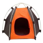 Outdoor UV Protection Oxford Cloth Tent Camp for Pets - Orange