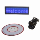 Professional LED Plate - Blue + Black