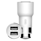 Xiaomi Roidmi Bluetooth 2-USB Car Charger Hi-Fi Receiver - White