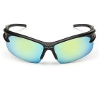 Men's UV400 Protection Explosion-Proof Sunglasses - Black + Gold
