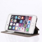 Smart Touch Slide Answer Phone Design Case w/ Stand for IPHONE7- Black