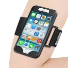 2-in-1 Sport Running Armband + Silicone Case for IPHONE 7 - Black