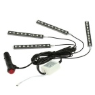 4 in 1 Wireless Remote Control Interior Decoration Atmosphere Light