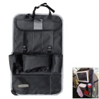 ZIQIAO Auto Multi-Function Storage Bag Ipad Bag - Black + Gray