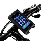 "ROSWHEEL Bicycle Handlebar Phone Bag for 4"" Mobile Phones - Black (1L)"