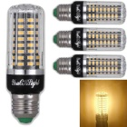 youoklight E12 7W bulbo del maíz blanco cálido 72 -LED ( AC 85 ~ 265V 4PCS )