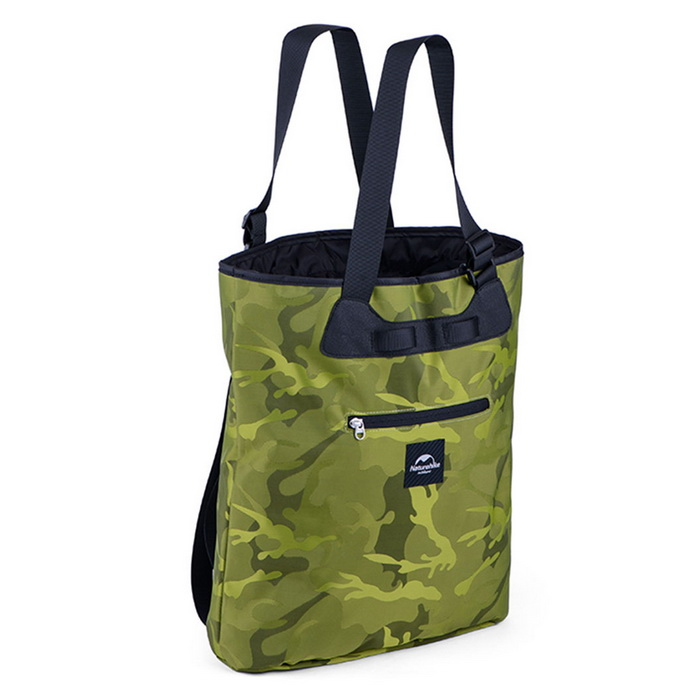 NatureHike 15L Sport Bag Small Running Backpack -Army Green Camouflage