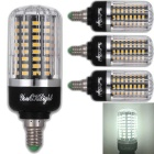 YouOKLight E12 9W 100-LED Cool White Corn Bulb (AC 85~265V 4 PCS)