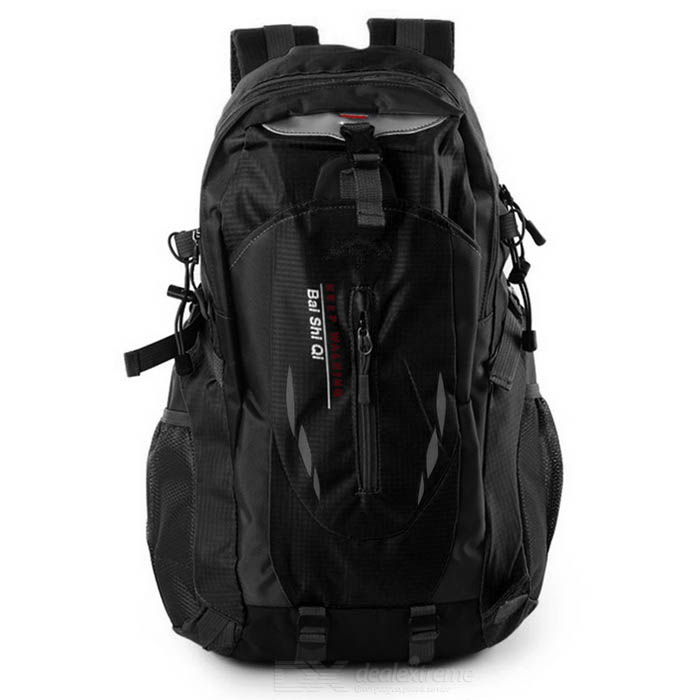 Outdoor Travel Mountaineering Large Capacity Bag Backpack - Black(40L)