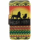 SZKINSTON Hakuna Matata PU Leather Case for IPHONE 7 Plus / 8 Plus
