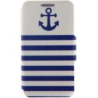 SZKINSTON Anchor Naval HD Pattern PU Leather Case for IPHONE 7 Plus