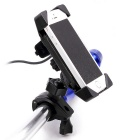 "CS-417A2 Motorcycle Holder + Charging USB Switch for 3.5~6"" Phones"