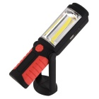 2-Mode 1500lm Cold White LED Flashlight / Torch / Tent Light (DC 3.7V)