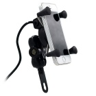CS-330B1 Motorcycle Phone Holder Mobile Phone USB Car Charger Combo