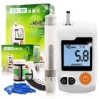 GA3 Smart Home Blood Glucose Monitoring System Tester Set - White