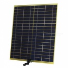 SUNWALK 12W18V Monocrystalline Solar Charger for Car/Motor 12V Battery