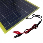 SUNWALK 20W18V Monocrystalline Solar Charger for Car/Motor 12V Battery