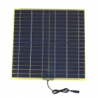 SUNWALK 15W18V Monocrystalline Solar Charger for Car/Motor 12V Battery