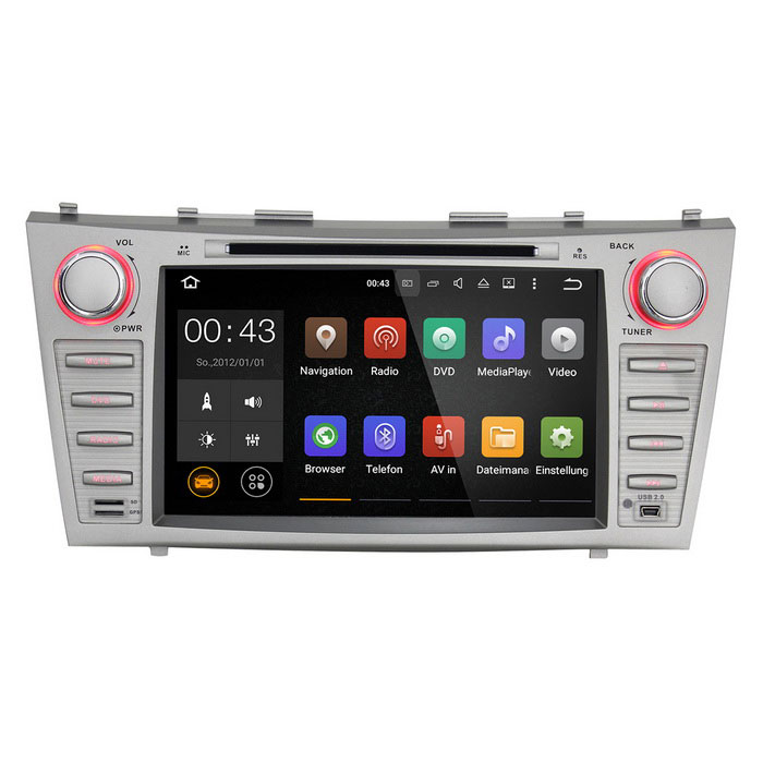 Joyous Quad-core Android 5.1.1 DVD Player for 2007-2011 Toyota Camry