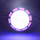 Motorcycle Built-in LED Devil Angel Eye Headlight Multicolor Light