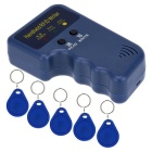 Handheld 125KHz RFID ID Card Writer w/ 5pcs Writable EM4305 Key Cards