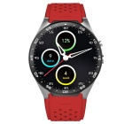 KW88 Android 5.1 OS 3G Smart Watch Phone w/ 512MB RAM, 4GB ROM - Red