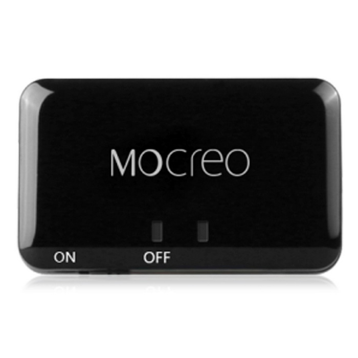 MOCREO Wireless Portable Bluetooth Stereo Music Transmitter - Black