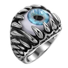 R098-8 Stylish 316L Stainless Steel Punk Ring
