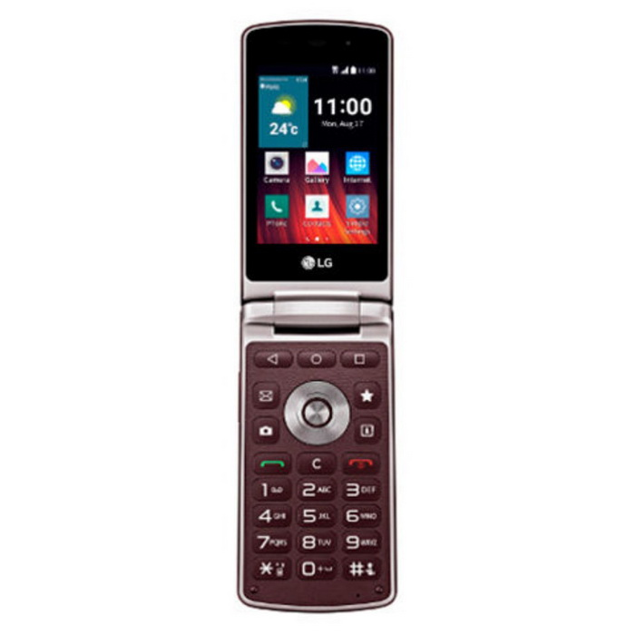 LG Wine Smart 2 H410 1GB RAM 4GB ROM - Red