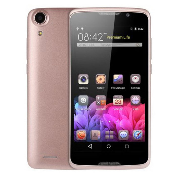 "H828 5.0"" Android 5.1 Smartphone w/ 1GB RAM, 8GB ROM - Pink"