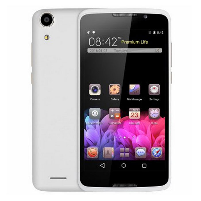 "H828 5.0"" Android 5.1 Smartphone w/ 1GB RAM, 8GB ROM - White"