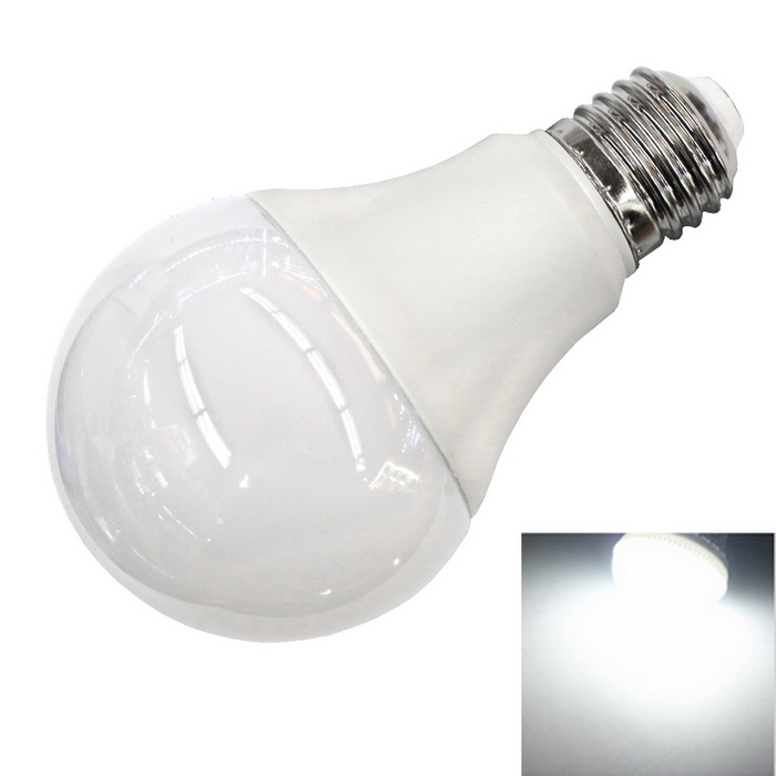 E27 5W 460lm 12-2835 SMD Wide Voltage Bulb Cold White (AC 100~240V)