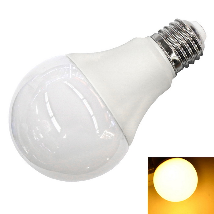 E27 5W 460lm 12-2835 SMD Wide Voltage Bulb Warm WhiteE27<br>Color BINWarm WhiteModelWide voltage paragraph 5WMaterialPlastic + 2835 SMD lamp beadsForm  ColorWhite + SilverQuantity1 DX.PCM.Model.AttributeModel.UnitPower5WRated VoltageAC 100-240 DX.PCM.Model.AttributeModel.UnitConnector TypeE27Chip BrandOthers,-Emitter TypeOthers,2835 SMDTotal Emitters12Theoretical Lumens460 DX.PCM.Model.AttributeModel.UnitActual Lumens460 DX.PCM.Model.AttributeModel.UnitColor Temperature3000KDimmableNoBeam Angle270 DX.PCM.Model.AttributeModel.UnitPacking List1 * Bulb Lamp<br>