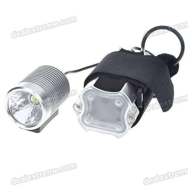 MJ-836 HA-III SSC-P7 2-Mode 900-Lumen LED Bike Light Set (4*18650)