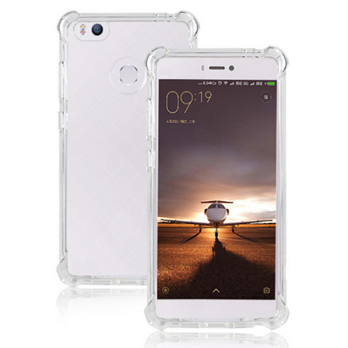 TPU Back Case + Nano Tempered Glass Screen Film for Xiaomi 4S