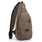 LOCAL LION Classic Fashion Shoulder Diagonal Package - Khaki (6.5L)