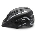 GUB XX6 Adult 55~61CM 19 Hole Air Vent Helmet with Visor - Black