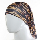 Flame Pattern Scarf Headband Veil Headwear Mask for Cycling - Black