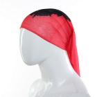 Multi-function Guevara Pattern Magic Scarf / Headband / Veil - Red