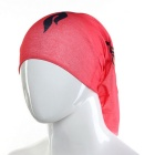 Flame Pattern Scarf Headband Veil Headwear Mask for Cycling - Red