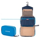 NatureHike Waterproof Ultralight Large Capacity Travel Wash Bag - Azul