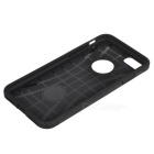 Protective TPU + PC Back Bumper Case for IPHONE 7 - Black