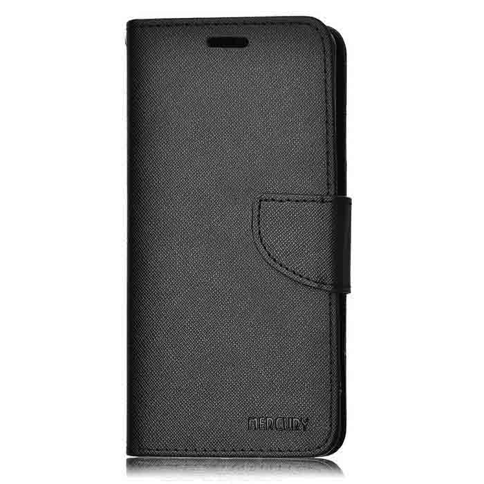 Cross Pattern Full Body Case w/ Card Slots for Samsung Note 7 - Black