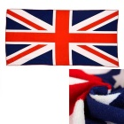3D British FlagFiber Reactive Printed Beach Towel