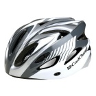 Cool Change Cycling Unisex Safety Helmet - Silvery Grey + White